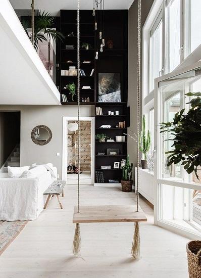 Loft noir et blanc