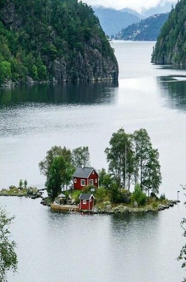 Maison fjord