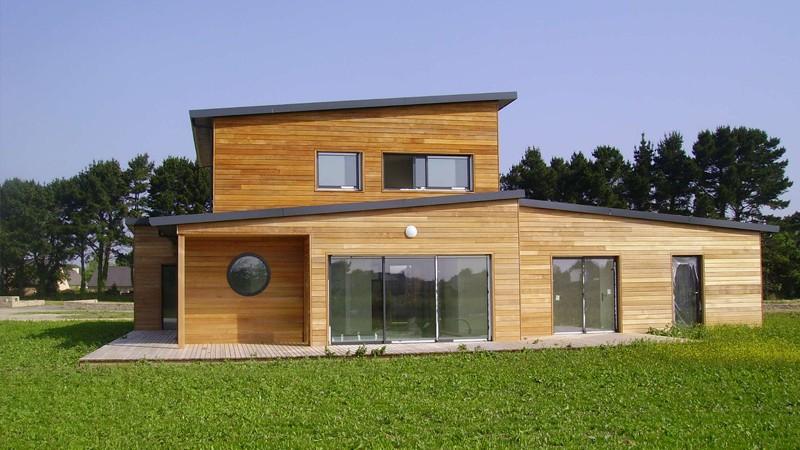 Choisir la construction de maison en bois Habitatpresto # Construire Sa Maison Soi Meme En Bois