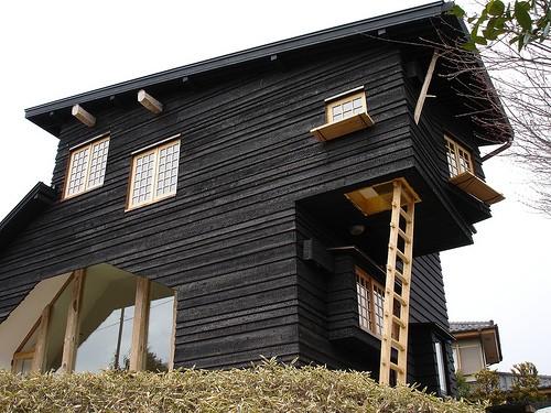 technique du bois brûlé maison bardage Shou-Sugi-Ban