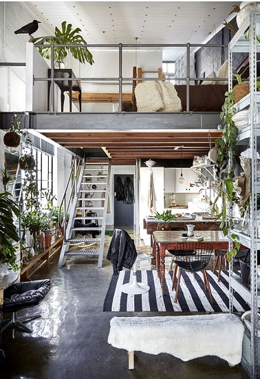 Loft green