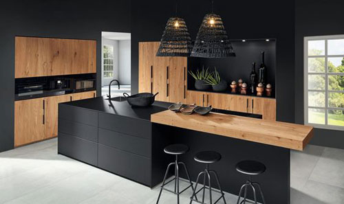 moderne-noire-bois