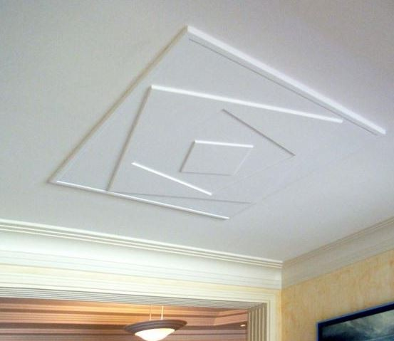 Comment d corer et colorer son plafond habitatpresto for Type de faux plafond
