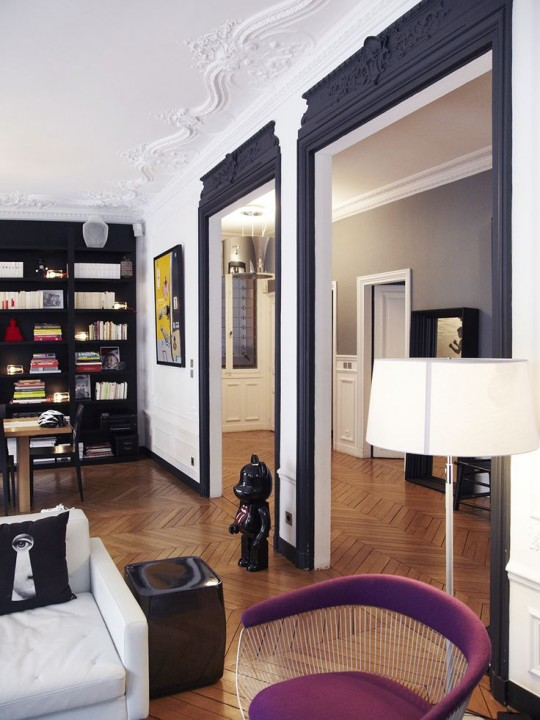inspirations moulures murales d coratives habitatpresto. Black Bedroom Furniture Sets. Home Design Ideas