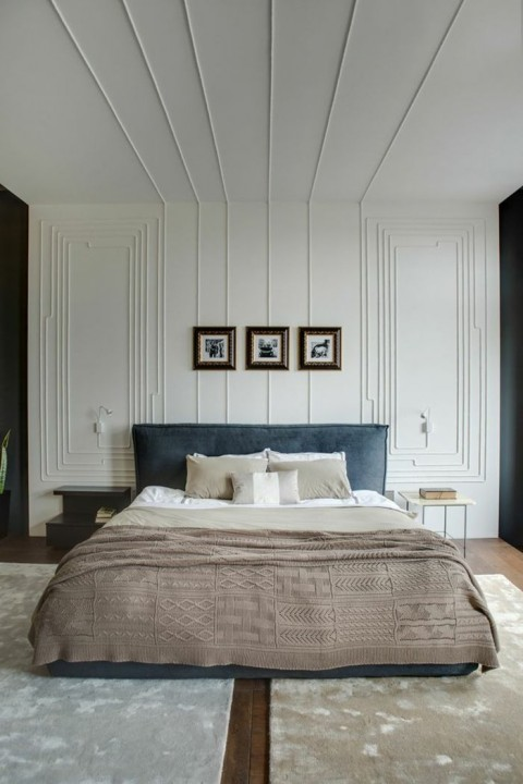 inspirations moulures murales d coratives. Black Bedroom Furniture Sets. Home Design Ideas