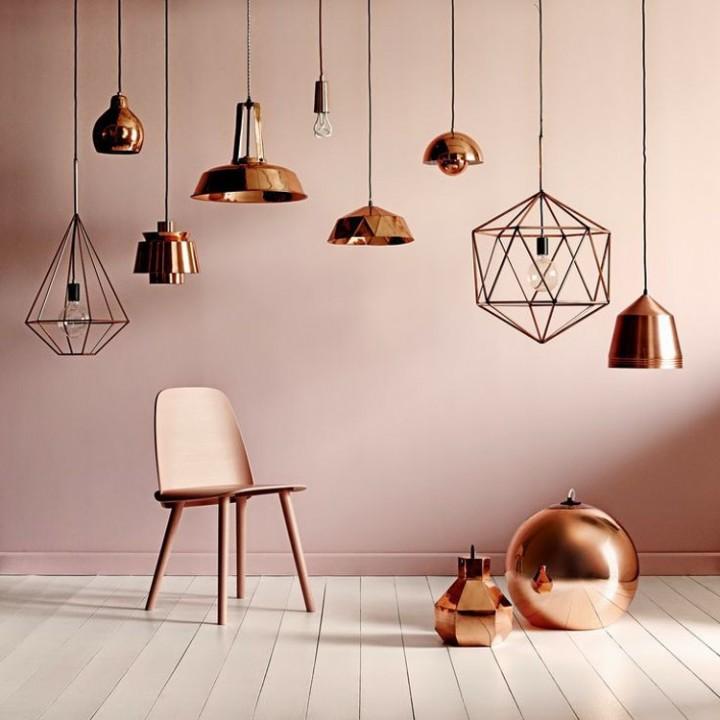Tendance déco mur intérieur : la couleur cuivre !
