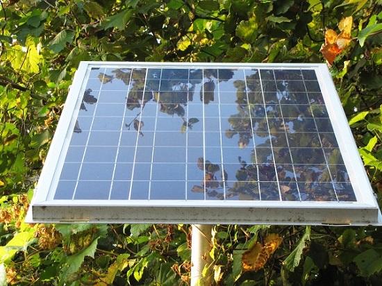 panneau photovoltaique monocristallin