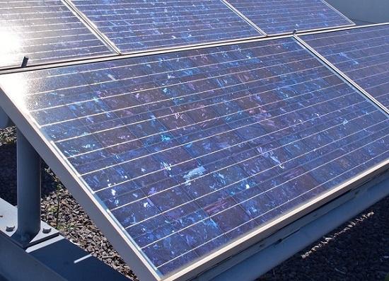 panneau photovoltaique polycristallin