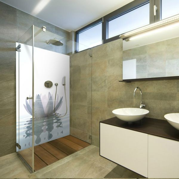 Mur Aluminium Douche Decor