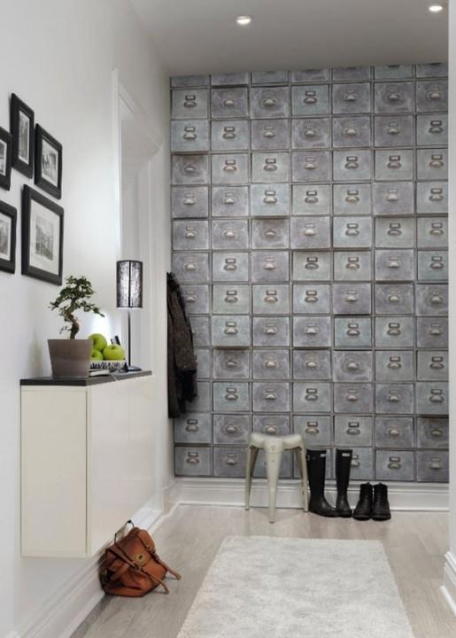 D corer ses murs avec du papier peint habitatpresto for Papier peint intisse cuisine