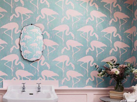 D corer ses murs avec du papier peint habitatpresto - Papier peint japonisant ...