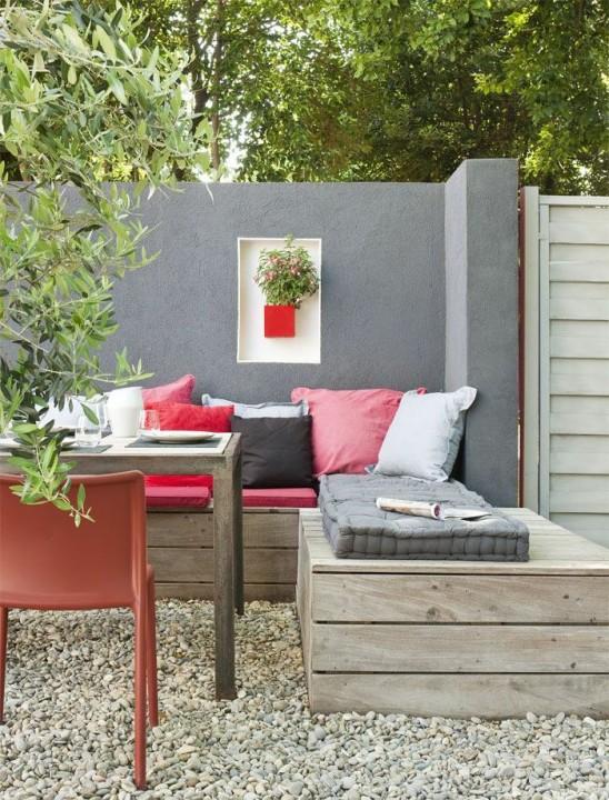 am nager un patio id es d coration habitatpresto. Black Bedroom Furniture Sets. Home Design Ideas