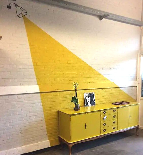 Peinture 2019 jaune