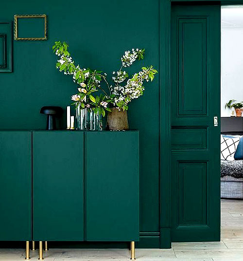 Peinture 2019 vert canard