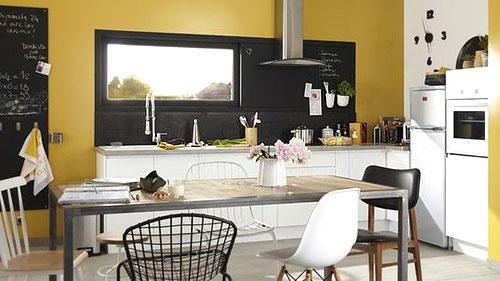 peinture de cuisine 6 couleurs tendances en 2019. Black Bedroom Furniture Sets. Home Design Ideas