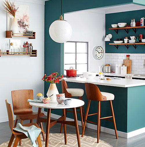 Charmant Peinture_cuisine_vert