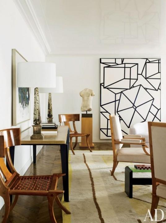 Peinture Motif Geometrique