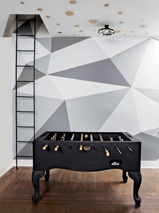 Deco geometrique for Deco peinture geometrique