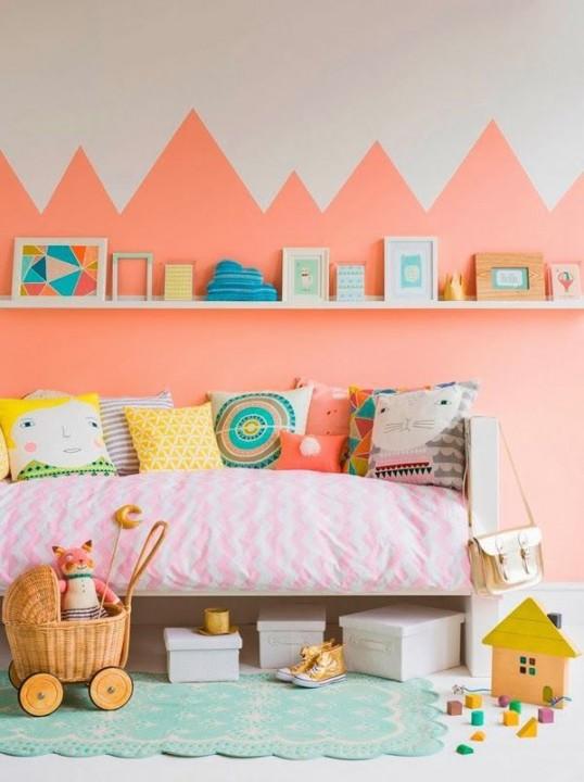 10 id es peintures pour chambre d 39 enfant habitatpresto for Peinture chambre d enfant