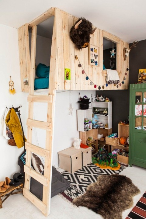 Chaise Cuisine Hauteur Plan De Travail :  dans la chambre ado chambre enfant 1628  Chambre Originale Pour Ado