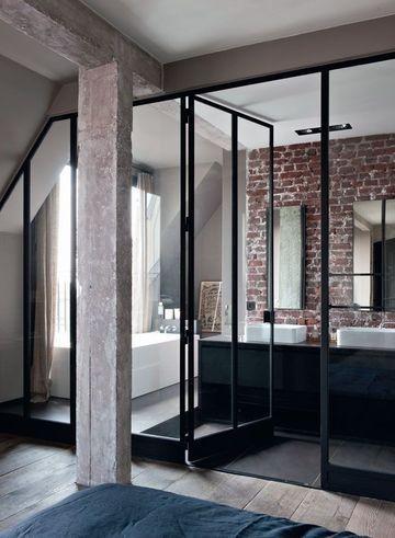 Installer une cloison atelier quel prix habitatpresto for Porte vitree pour salle de bain