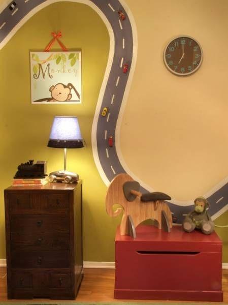 idée peinture magnétique chambre enfant