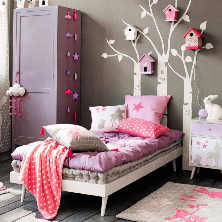 deco chambre maison du monde maisons monde chambre ado fille rock rose violet miroir lunettes. Black Bedroom Furniture Sets. Home Design Ideas