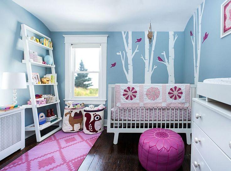 D coration 9 id es de chambres d 39 enfant habitatpresto - Peinture pour chambre de fille ...