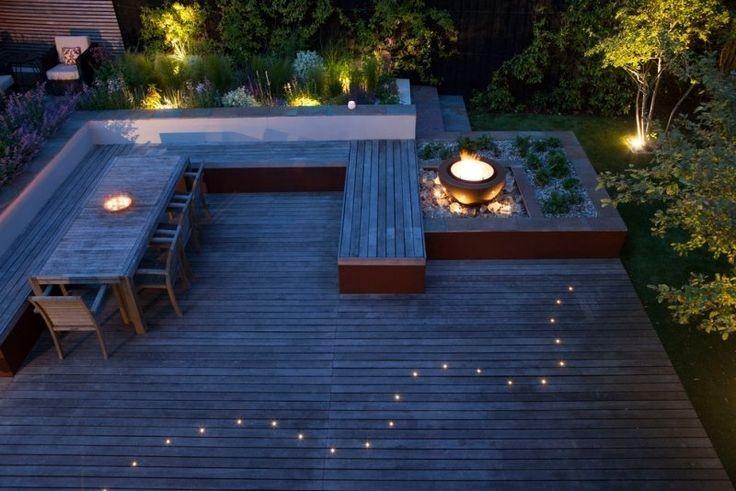 10 id es d 39 clairage ext rieur pour la maison habitatpresto. Black Bedroom Furniture Sets. Home Design Ideas