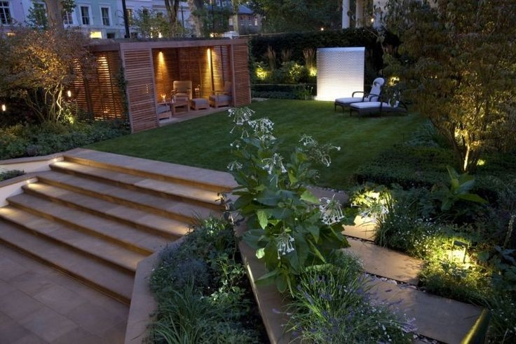 10 id es d 39 clairage ext rieur pour la maison habitatpresto Idee jardin maison