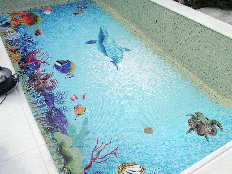 comment personnaliser le fond de la piscine habitatpresto. Black Bedroom Furniture Sets. Home Design Ideas