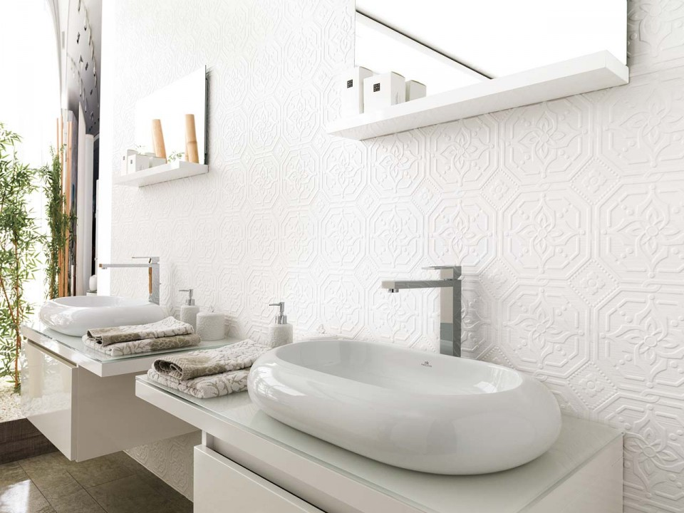 choisir le carrelage de la salle de bain | habitatpresto - Nettoyage Faience Salle De Bain