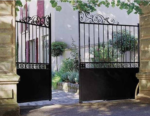 portillon de jardin lapeyre. Black Bedroom Furniture Sets. Home Design Ideas