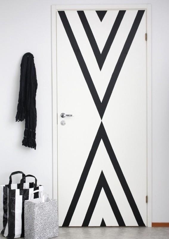 le masking tape en d coration inspirations et astuces habitatpresto. Black Bedroom Furniture Sets. Home Design Ideas