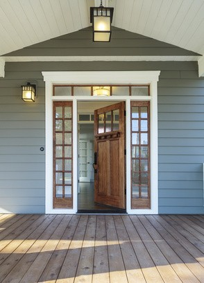 Comment bien choisir sa porte d 39 entr e habitatpresto for House doors and frames