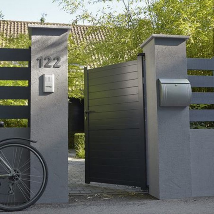 Portillon de jardin le tableau comparatif habitatpresto for Portillon de jardin metal vert