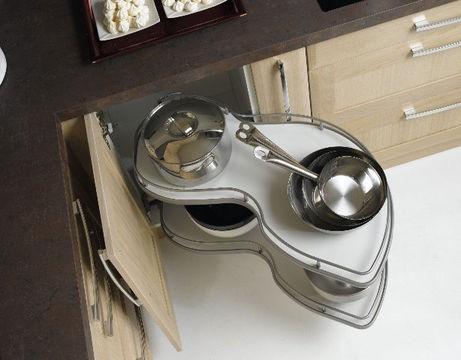 5 astuces pour aménager une petite cuisine | habitatpresto - Tiroir Angle Cuisine