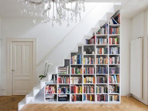 Idées Pour Aménager Des Rangements Sous Escalier | Habitatpresto