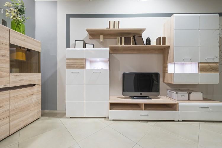 rangement salon tous les meubles et id es habitatpresto. Black Bedroom Furniture Sets. Home Design Ideas