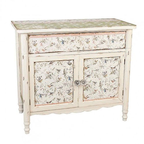 relooker ses meubles avec du papier peint 6 id es d co. Black Bedroom Furniture Sets. Home Design Ideas