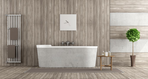 relooking express avec les panneaux muraux pour salle de bain revetement_sdb_panneaux