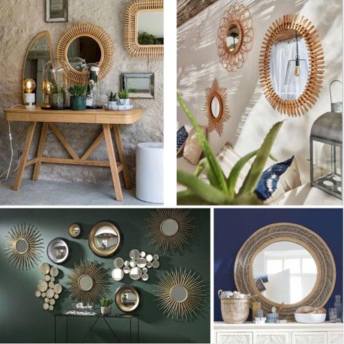 rotin-miroir