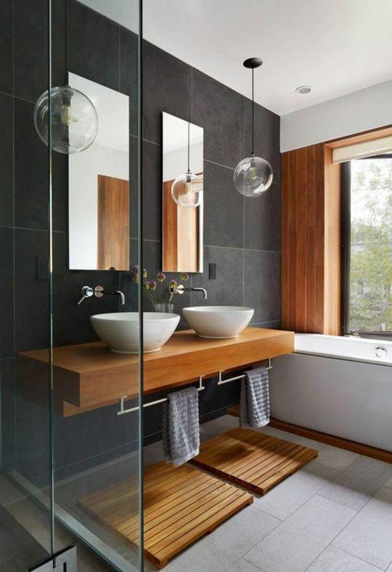 Salle de bains moderne et design : 23 idées inspirantes