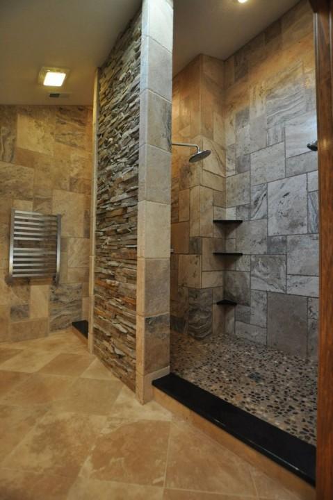 idee couleur carrelage salle de bain - Images Salle De Bain
