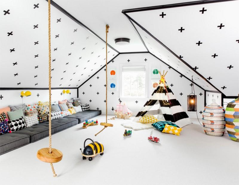 id es d co pour salle de jeux enfants habitatpresto. Black Bedroom Furniture Sets. Home Design Ideas