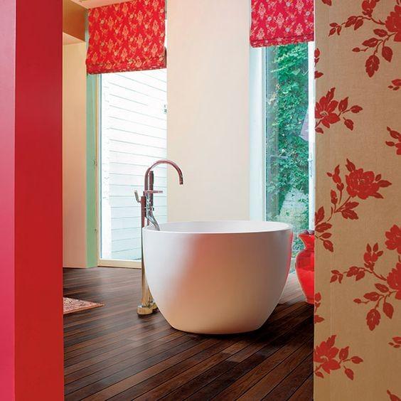 tendance bois pour la salle de bain habitatpresto. Black Bedroom Furniture Sets. Home Design Ideas