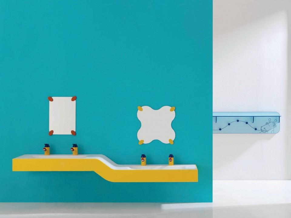 am nager une salle de bain pour enfants habitatpresto. Black Bedroom Furniture Sets. Home Design Ideas