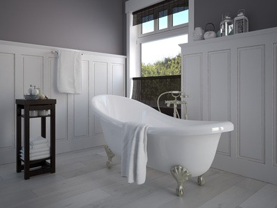 peinture salle de bain ce qu 39 il faut absolument savoir habitatpresto. Black Bedroom Furniture Sets. Home Design Ideas