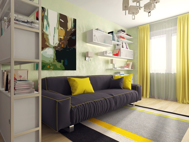 rangement salon tous les meubles et id es habitatpresto. Black Bedroom Furniture Sets. Home Design Ideas