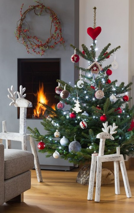 Original 20 id es de sapins de no l habitatpresto - Salon simple et beau ...
